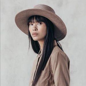 JANESSA LEONÉ  • Rena Boater Hat